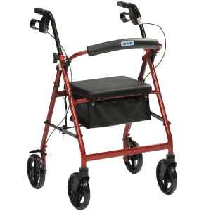 light weight aluminum rollator rent to own hire perth